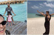 Demet Akalın & Okan Kurt Maldivler Tatili