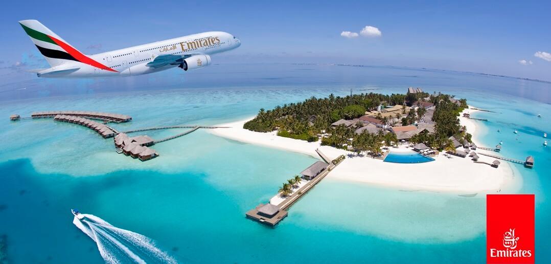 Emirates Hava Yolları ile Maldivler Uçak Bileti