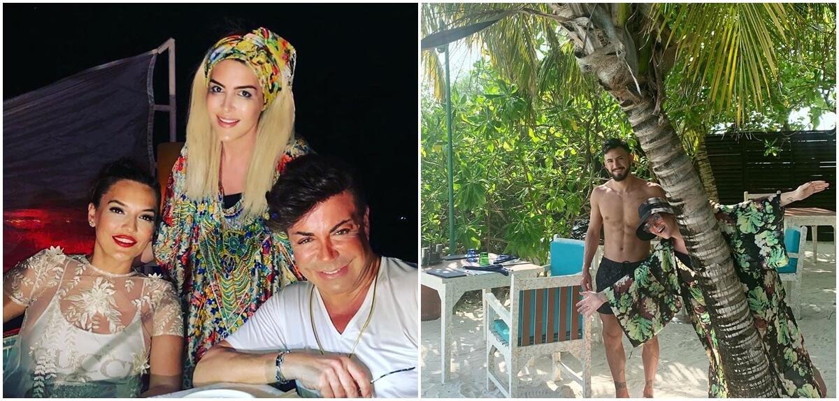 Selin Ciğerci & Gökhan Çıra ve Fatih Ürek'te Maldivler'de!