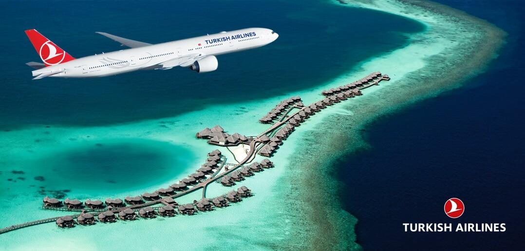 Türk Hava Yolları ile Maldivler Uçak Bileti